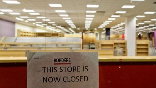Borders, Blockbuster - who's next? Banks?